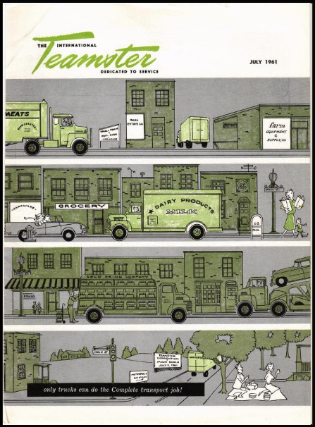 A Teamster Magazine from July 1961.