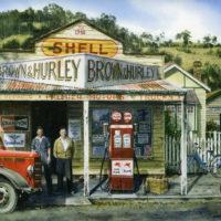 50 Year Company Award: Brown Hurley