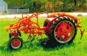 1950 Allis Chalmers Cultivating Tractor