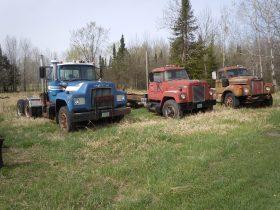 1974 R600, 1973 Int, 1965 Mack