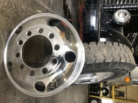 WANTED = 5-Hole Aluminum Rims, Firestone Crossbar Tires, and Old Set of Sanders..