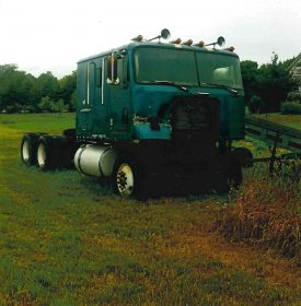 COE International Chassis for Restoration or Parts